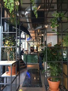 Diary of Di - Photo diary Rotterdam II Commercial Interior Design, Commercial Interiors, Cafe Design, House Design, Community Places, Gallery Cafe, Roomspiration, Garden Theme, Photo Diary