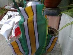otra bolso matero, pero liviano, moderno y con tela retro