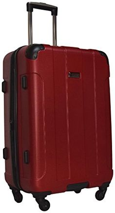Luggage Sets Collections | Kenneth Cole Reaction Central Park 24 4Wheel Upright Expandable Spinner Red >>> Click image to review more details. Note:It is Affiliate Link to Amazon.