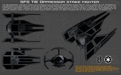 SFS TIE Oppressor strike fighter ortho [New] by unusualsuspex on DeviantArt