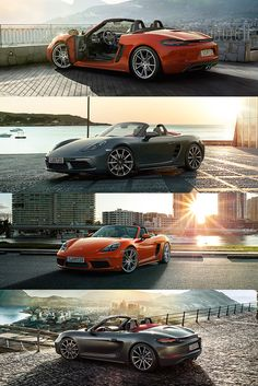 Life isn't played out in the second row, but in the midst of the sporty action. It's an attitude that the new Porsche 718 Boxster reinforces - with the characteristic sound of its horizontally opposed engine, just as you would expect of a Porsche. *Combined fuel consumption in accordance with EU6: 8.1 - 6.9 l/100km; CO2 emissions: 184 - 158 g/km