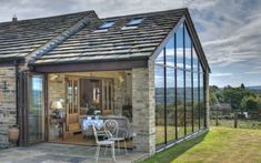 Single Storey Contemporary Barn Extension - Huddersfield