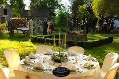 Country Wedding at Moulin Bregeon Outdoor Parties, Le Moulin, Perfect Wedding, Wedding Inspiration, Wedding Ideas, Picnic, Wedding Planning, Table Settings, Table Decorations