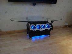 Engine coffee table.  :)