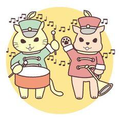 """""""音楽の輪 #illustration #落書き #お絵描き #drawing #tomo_e"""""""