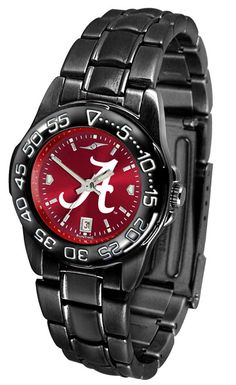 The Fantom Sport boasts a bold but not in-your-face image of your favorite team's logo on a team color Anochrome dial. The watch features a dark gunmetal finish, a date calendar display and a rotating