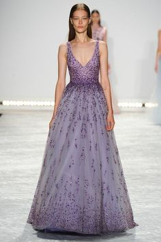 Monique Lhuillier Spring 2015 Ready-to-Wear - Collection - Gallery - Look 40 - | Le Fevrier |