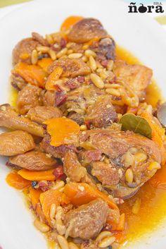 Pollo en salsa con frutos secos | afreirpimientos