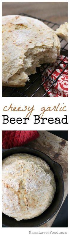 Cheesy Garlic Tavern Bread inspired by Outlander