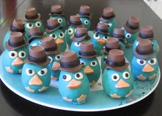 deWishes delights: Perry the Platypus Cake Truffles