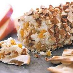 Your Inspiration at Home Orange, Mango & Guava Fruit & Nut Cheese Log. #YIAH #OMG #appetizer