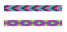 Image result for how to finish a bead loom bracelet