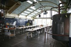 Open kitchen and great atmosphere @ restaurant Pont 13 Amsterdam Cafe, Amsterdam Holland, Visit Amsterdam, Places To Travel, Places To Go, River Cruises In Europe, Floating Restaurant, Amsterdam Things To Do In, Travel Memories