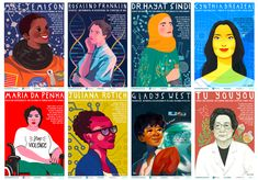 STEM Role Models Posters Celebrate Women Innovators As Illustrated By Women Artists Marie Curie, Maurice Wilkins, Science Classroom, Classroom Decor, Teaching Science, Future Classroom, Teaching Ideas, Classroom Walls, Science Resources