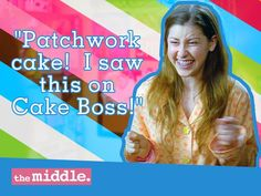 Omg everyone should watch this show sooooooo funny! It's called the middle its on at 8:00 at night on Wednesday ABC