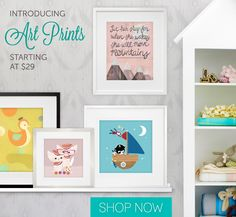 Introducing our newest way to bring affordable, engaging artwork to your kids' lives - Art Prints for Kids from Oopsy Daisy!