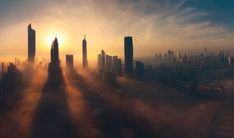 Kuwait among the clouds Photo by ayed alajme — National Geographic Your Shot