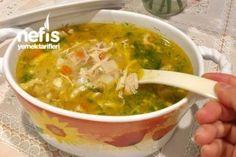 Sebzeli Tavuk Çorbası Tarifi Iftar, Homemade Beauty Products, Guacamole, Salsa, Food And Drink, Health Fitness, Mexican, Ethnic Recipes, Soups