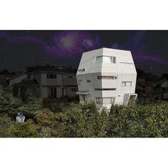 Does it remind you of Star Wars? #architecture #arsitektur #modernhouse #rumahmodern #rumah #house #housedesign #desainrumah #starwars