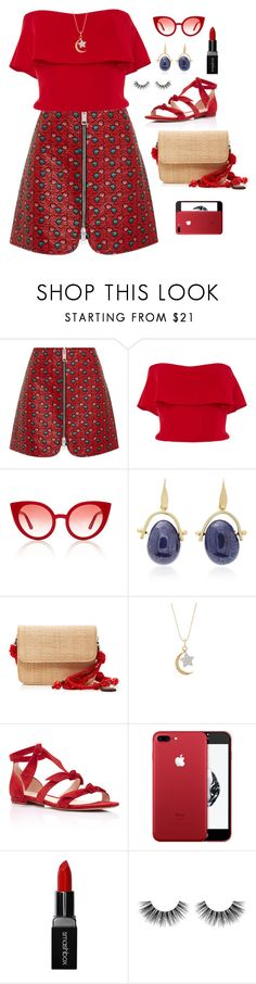 """Untitled #2185"" by ebramos ❤ liked on Polyvore featuring Isabel Marant, Reem Acra, Spektre, Glorinha Paranagua, Sydney Evan, Alexandre Birman, Smashbox and Velour Lashes"