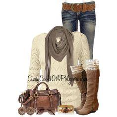 boots bag top jeans