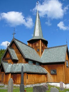 Stavkyrka - Middle Age church in Norway
