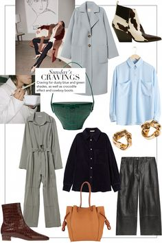 Sunday's Cravings: Dusty Blues and Greens