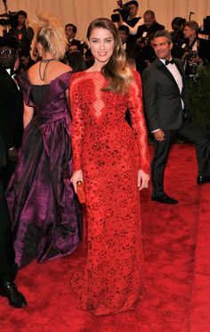 The Met Gala 2013: The Best of the Red Carpet - Amber Heard