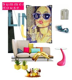"""""""Home Decor Template"""" by fl4u ❤ liked on Polyvore featuring interior, interiors, interior design, Zuhause, home decor, interior decorating, Disney, Home, template und sunnies"""