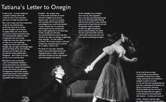 Tatyana's Letter to Onegin
