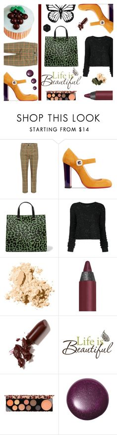 """""""Life is Beautiful"""" by andreamilles on Polyvore featuring Prada, Christian Louboutin, Clare V., Public School, Bobbi Brown Cosmetics, Urban Decay, LAQA & Co., Brewster Home Fashions, MAC Cosmetics and Swissco"""