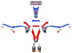 HONDA CRF 250 / CRF 450,Muscle Milk, Graphics decals!!CALCOS, excellent quality!