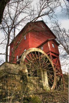 Topaz Mill in the Ozarks