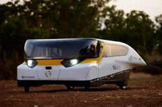 The Stella is the world's first sun-powered family car and  takes prize at world solar challenge. Because the car uses only about half the power that the solar cells generate, it can actually give surplus power back to the grid when stationary. Sustainable Design Innovation