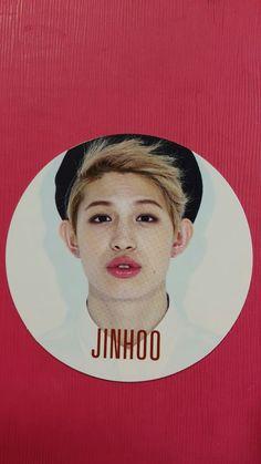 UP10TION JINHOO Official Photocard So, Dangerous 1st Mini Album Photo card