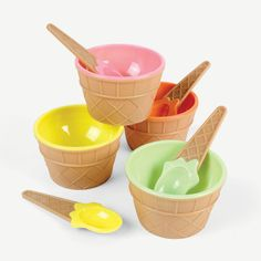 Ice+Cream+Dishes+-+OrientalTrading.com $15 for a dozen. This is a great deal!