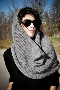 Cowl by Holly Crawford on Etsy $40