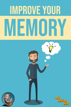 Improve Your MEMORY! How to MEMORIZE Faster - ONE MINUTE MIKE  #memory #memorize #memorizebetter #selfhelp #improvememory #improvement #boostmemory #increasememory #howto #howtoimprovememory #howtomemorizefaster #havebettermemory #selfimprovement