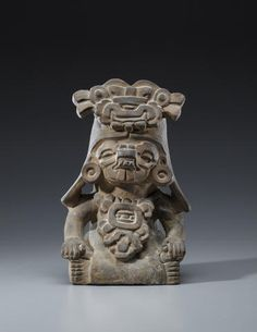 Zapotec Figural Urn, Monte Alban III, ca. A.D. 550-750 Earthenware 210H