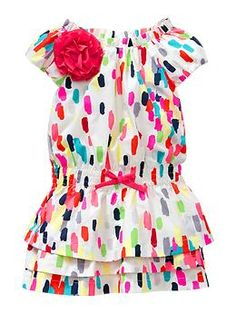 Adorable Gap Confetti Dress