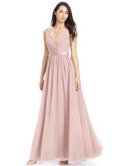 4a506d97b5af Azazie Leanna Bridesmaid Dress - Dusty Rose | Azazie Dusty Rose Dress,  Dusty Rose Bridesmaid