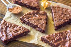 Ingredient fudge protein brownies vegan gluten free paleo