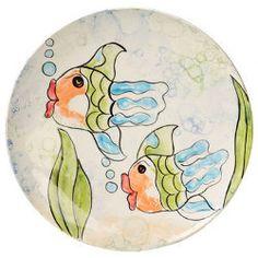 Fishy Fun Hand Prints