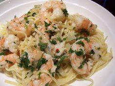 Kellie's Kitchen: Shrimp Scampi Linguini