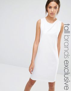 Y.A.S+Tall+Alberte+Sleeveless+Pleat+Front+Detail+Dress