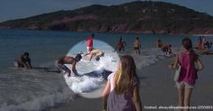 GALLERY: Normal Day At The Beach And Then The Unexpected Happened. They Couldn't Believe What They Saw!