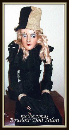 boudoir doll 1920's Anita