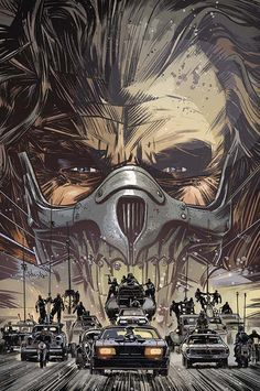 Mad Max Fury Road Immortan Joe Tom Hardy Post Apocalyptic Dystopia Fantasy Dark Art Sci Fi Pop Art Print 8x10 Max Rockatansky