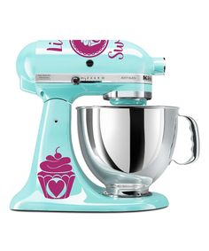 Violet 'Life is Sweet' Mixer Decal Set