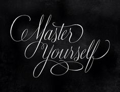 betype: Master Yourself (by highpulp) Words Wisdom Quotes, Words Quotes, Wise Words, Quotes To Live By, Me Quotes, Wise Sayings, Spiritual Quotes, Great Quotes, Inspirational Quotes